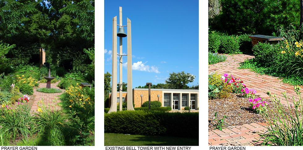 Prayer Garden and New Entry