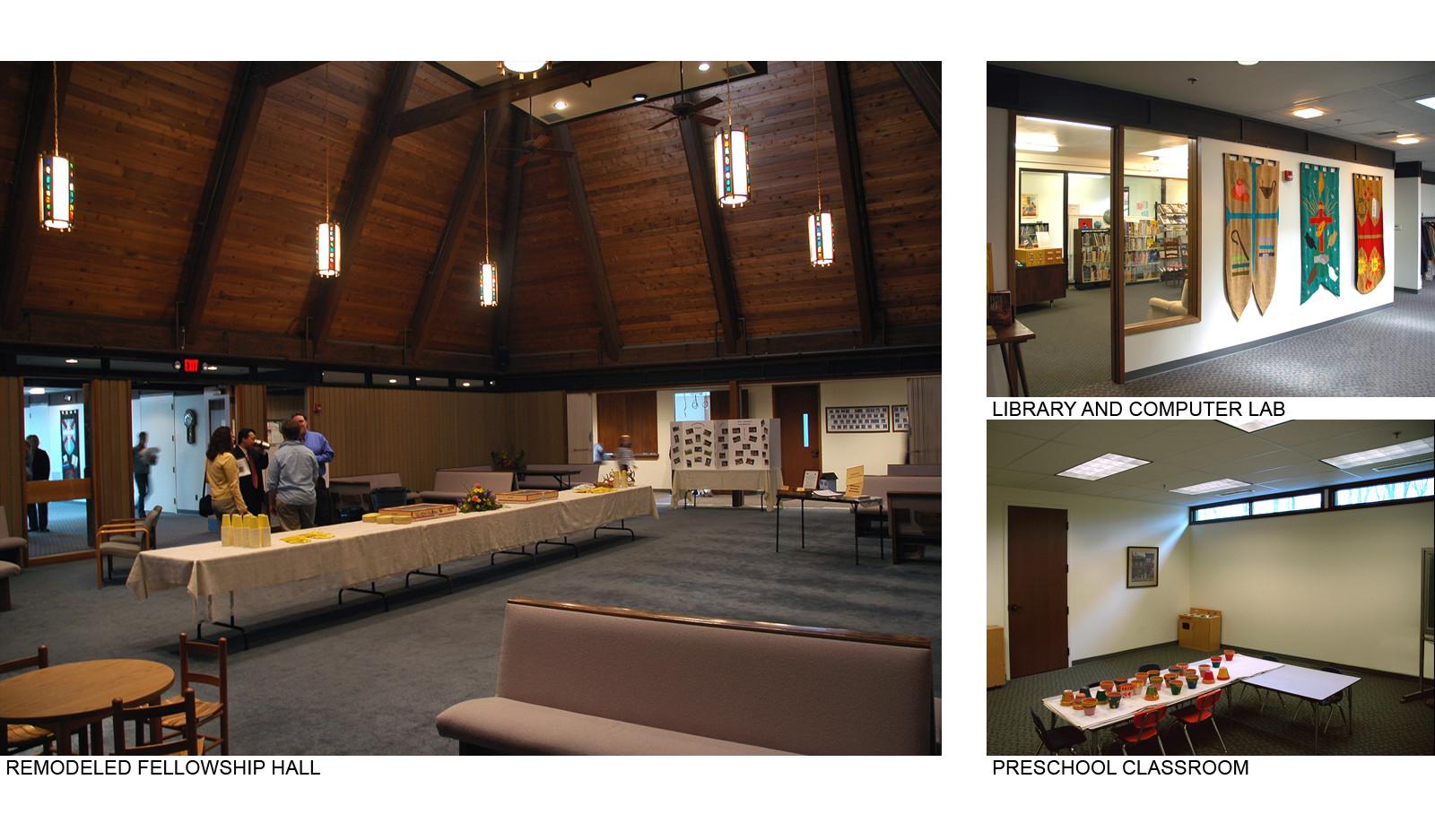 Fellowship Hall, Library & Classroom