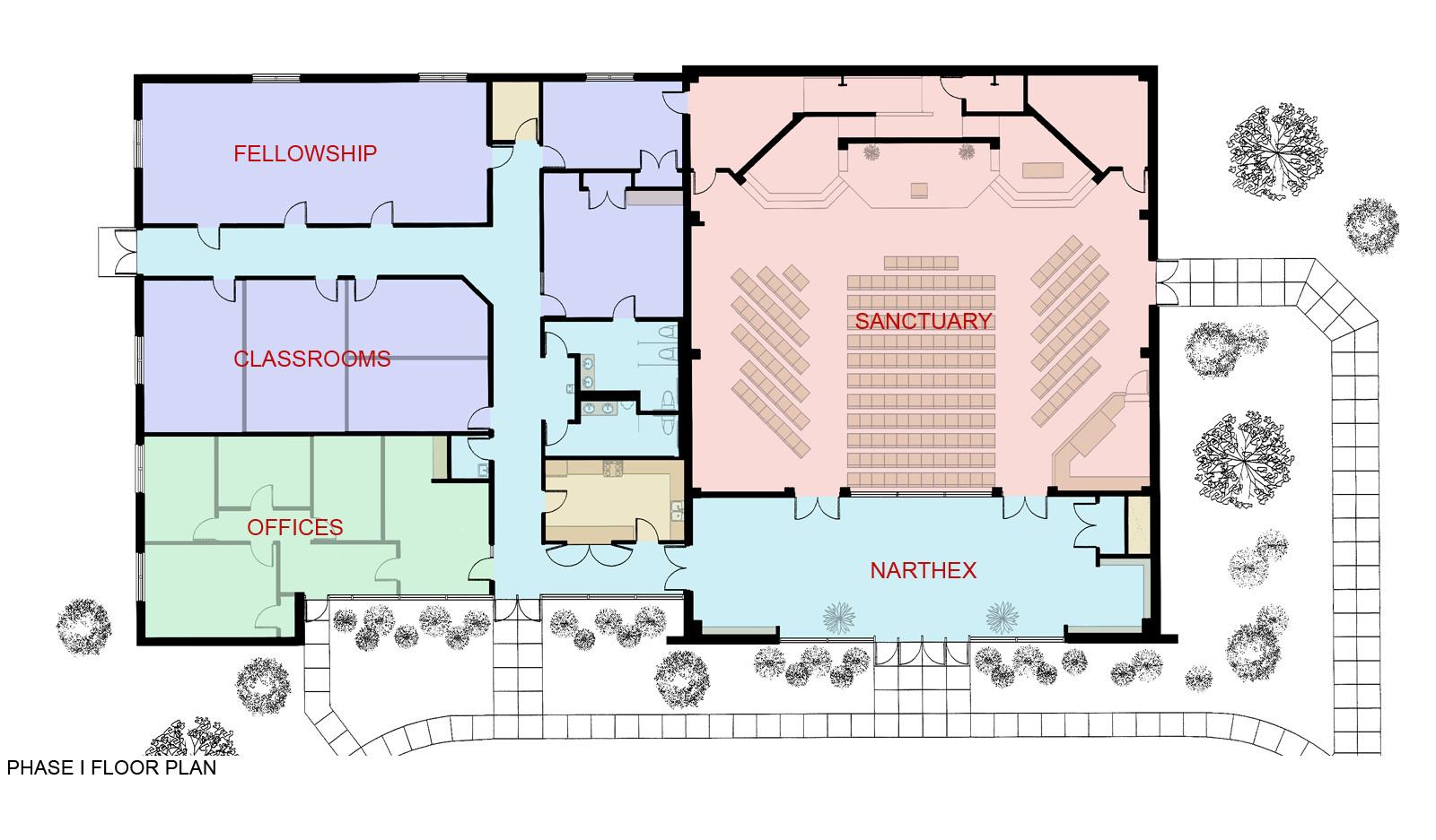 Phase I Floor Plan