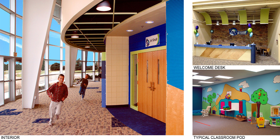 Interior, Welcome Desk, and Classroom