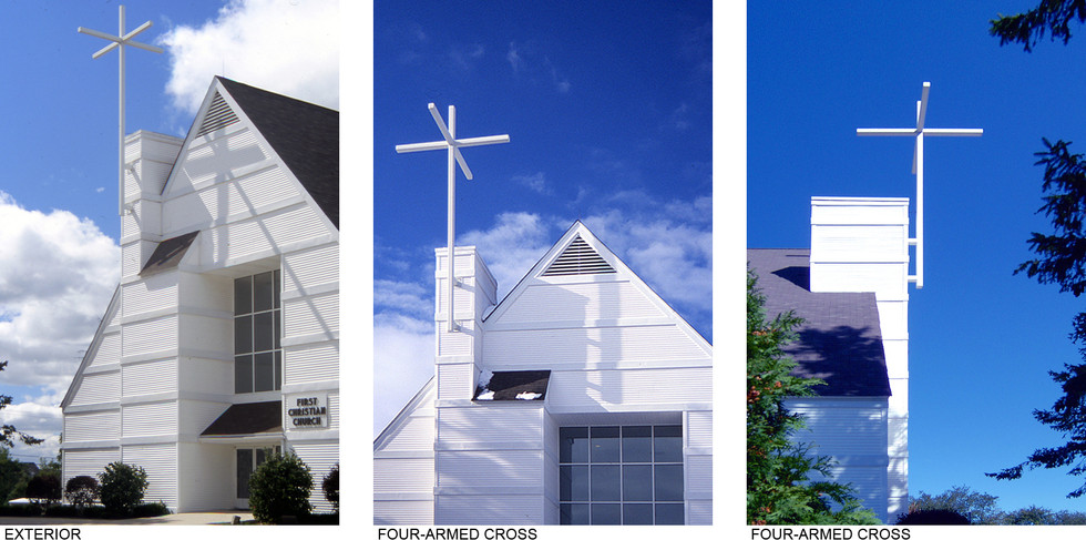Exterior and Four-Armed Cross