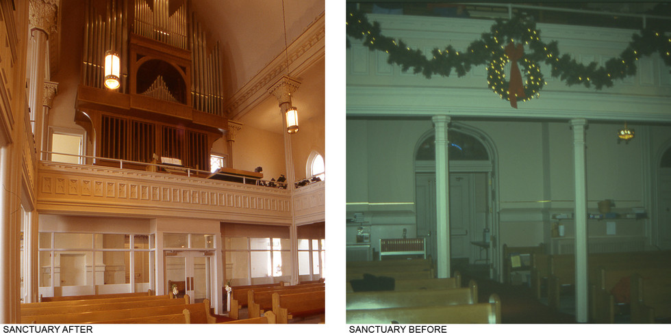 Sanctuary Before & After