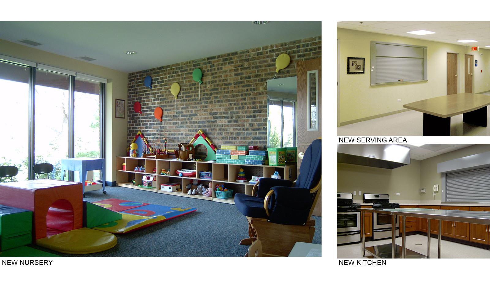 Nursery and Kitchen