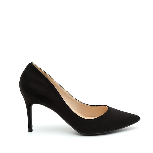 Classic Black High Heels Pointy Pumps Size 34-35