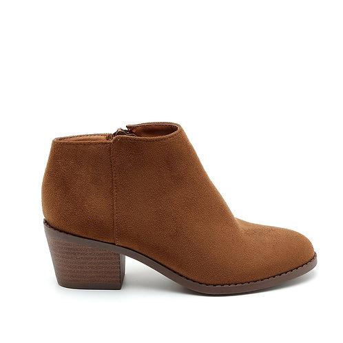 Brown Wooden Heel booties size 35