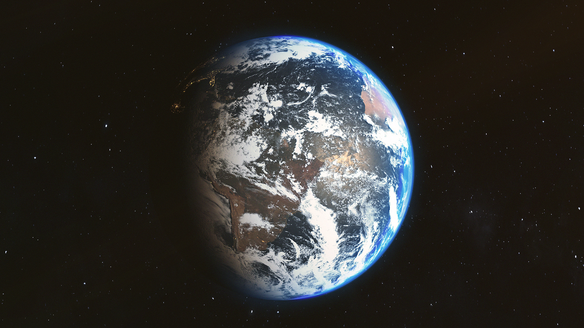 Earth Render 1