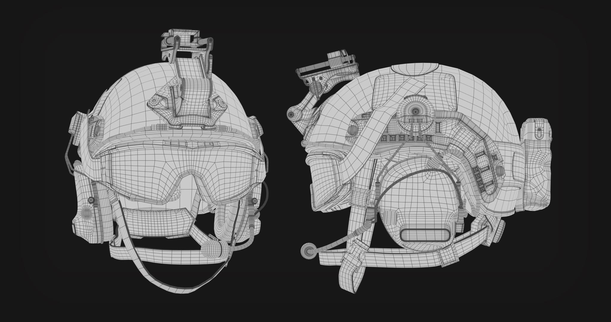 Helmet_Wireframe_Render_2k