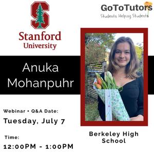 Anuka Mohanpuhr | Stanford