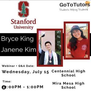 Bryce King and Janene Kim | Stanford