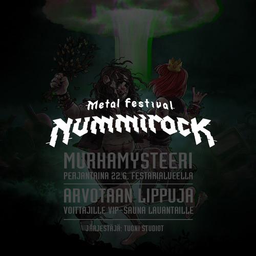 Murhamysteeri Nummirockissa 2018