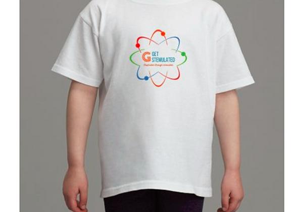 Get STEMulated Kid's T-shirt