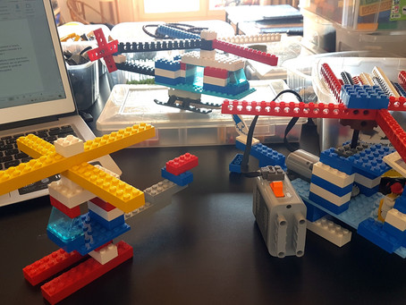 Ateliers LEGO en visio : c'est possible !