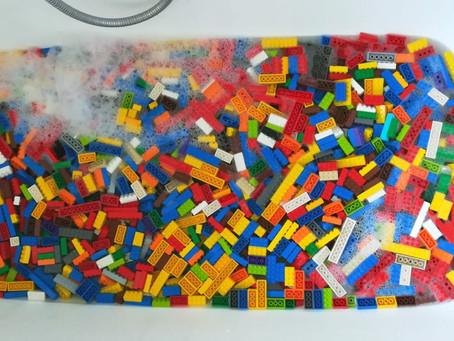 Briques LEGO®, hygiène et coronavirus