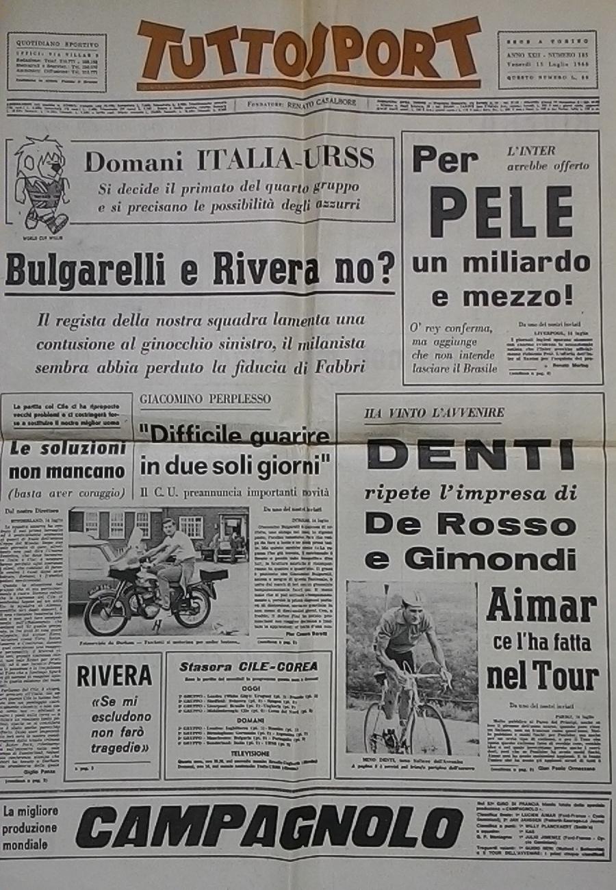 TUTTOSPORT prima pagina