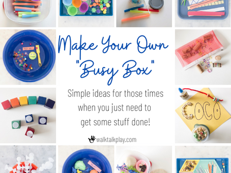 Busy Box for Busy Times