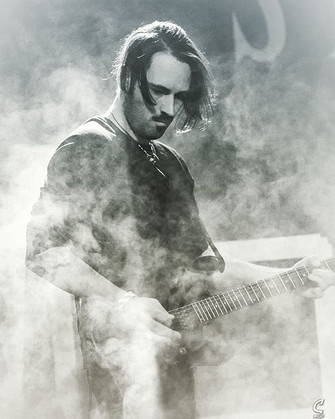 Clay on lead guitar