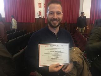 """""""FINALISTA"""" en los Premios TECNOEDU"""