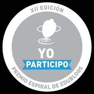 Participamos en el XII Premio Espiral Edublog