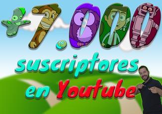 ¡¡Más de 7.000 suscriptores y 1.000.000 de reproducciones en Youtube!!