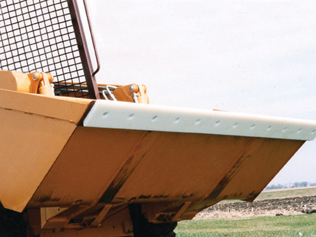Plastic Fabrication of UHMW Poly Cutting Edges for Snowplows