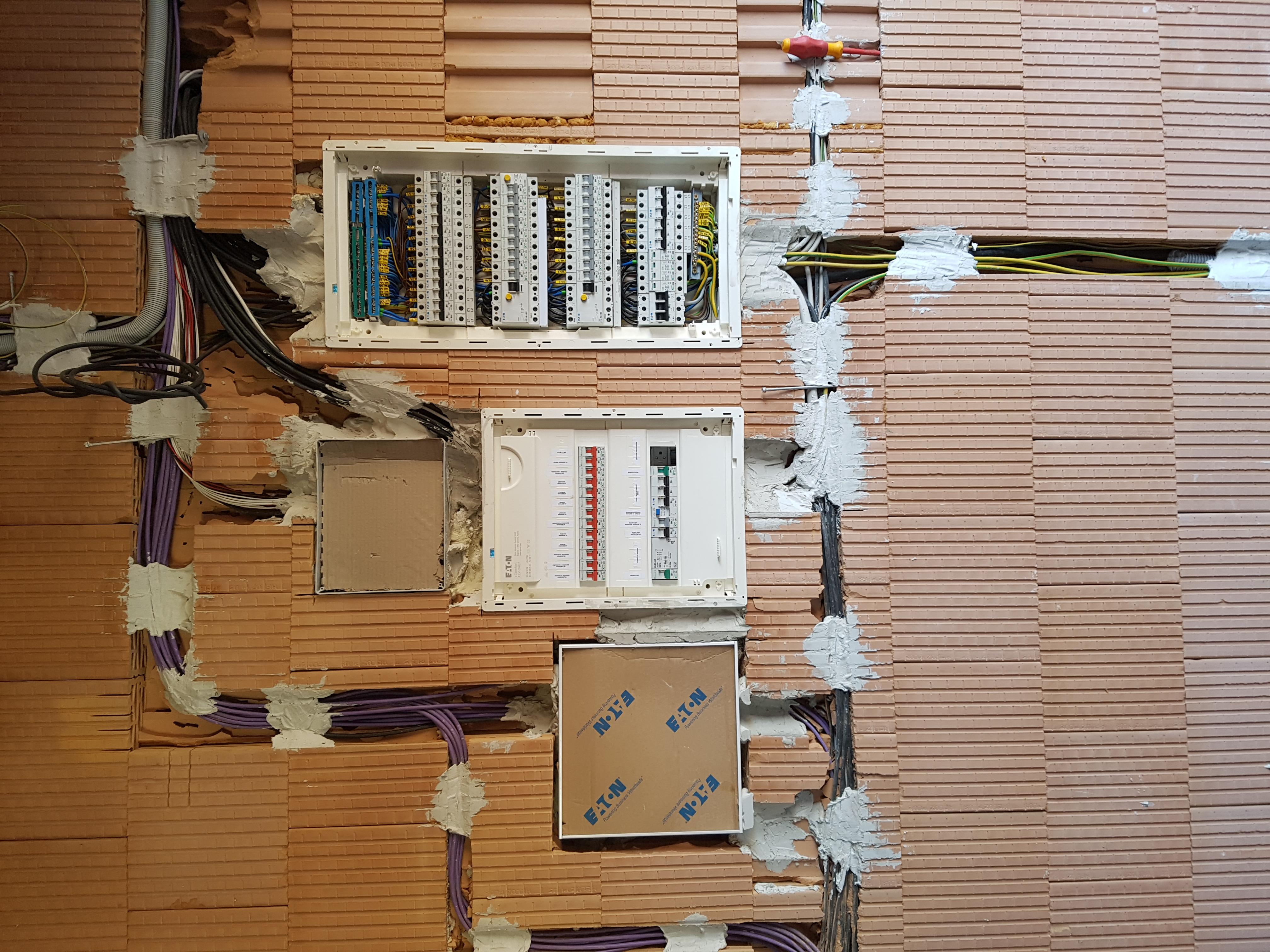 Elektroinštalácia rodinné domy