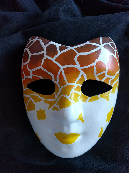 Custom Hand Painted Masks