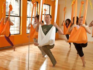 Aerial Yoga Coming Soon!