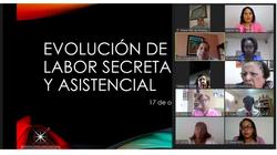 Evolución de la labor secretarial y asis