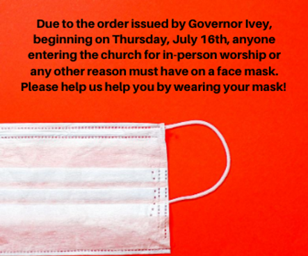 Due to the order issued by Governor Ivey