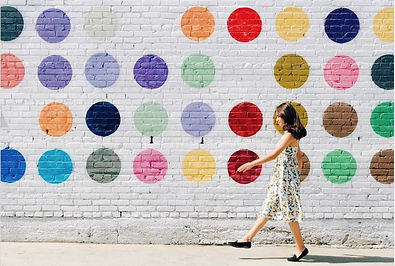 most-instagrammable-walls-polka-dot-wall