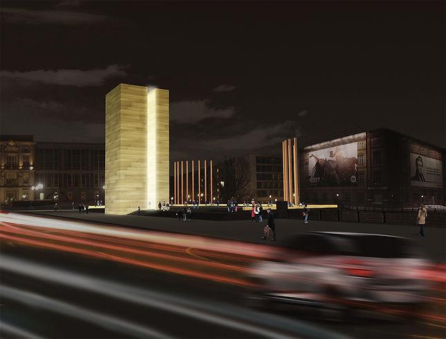 Monumento noche