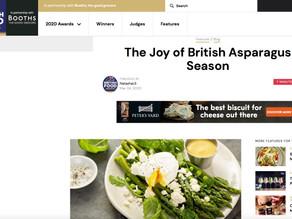 Great British Food Awards - The Joy of the British Asparagus Season