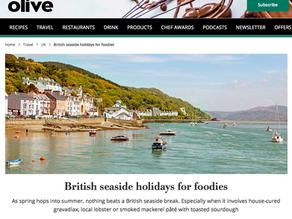 olive magazine -british seaside holidays for foodies