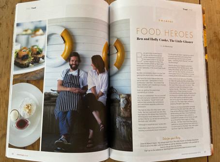 Style of Wight -Food Heroes            Ben & Holly Cooke, The Little Gloster