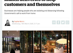 The i Newspaper - Coronavirus-hit restaurants launch deliveries to help customers and themselves