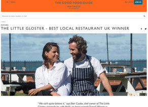 The Good Food Guide - 'Best Local Restaurant UK Winner 2020' Interview with Good Food Guide Editor