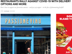 Elle Decoration - Restaurants rally against Covid-19 with Delivery Options and More