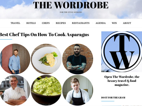 The Wordrobe - best chef tips on how to cook asparagus