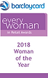 Barclaycard Everywoman in Retail Awards 2018 Woman of the Year