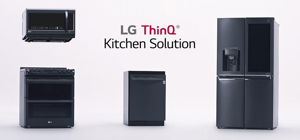 LG ThinQ Smart Kitchen Appliances
