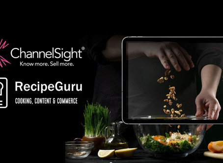 Recipe Guru and ChannelSight announce strategic partnership to unlock the power of recipes