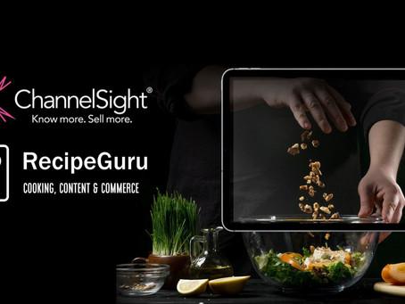 Recipe Guru and ChannelSight announce strategic partnership to unlock the power of recipes