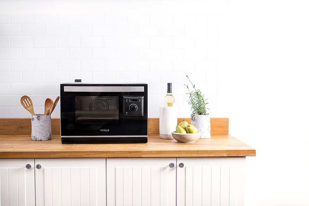 Tovola smart countertop oven in kitchen
