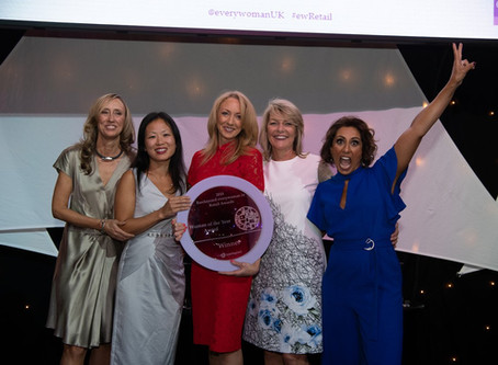 Niamh Sterling named Barclaycard everywoman in Retail Woman of the Year