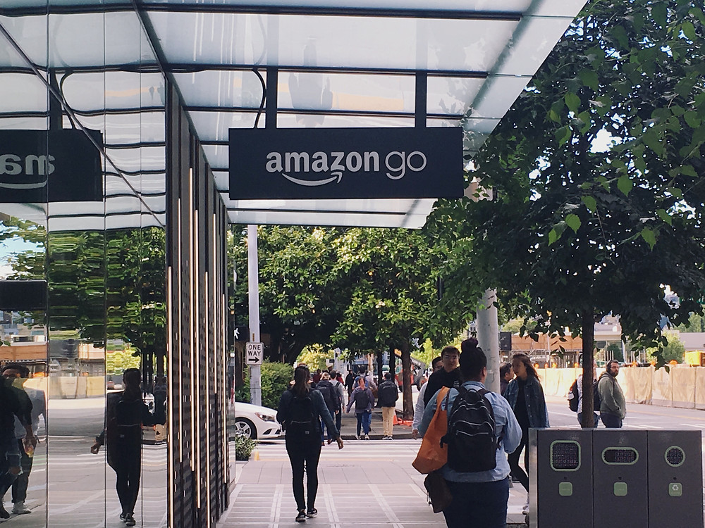 Amazon Go store in Seattle