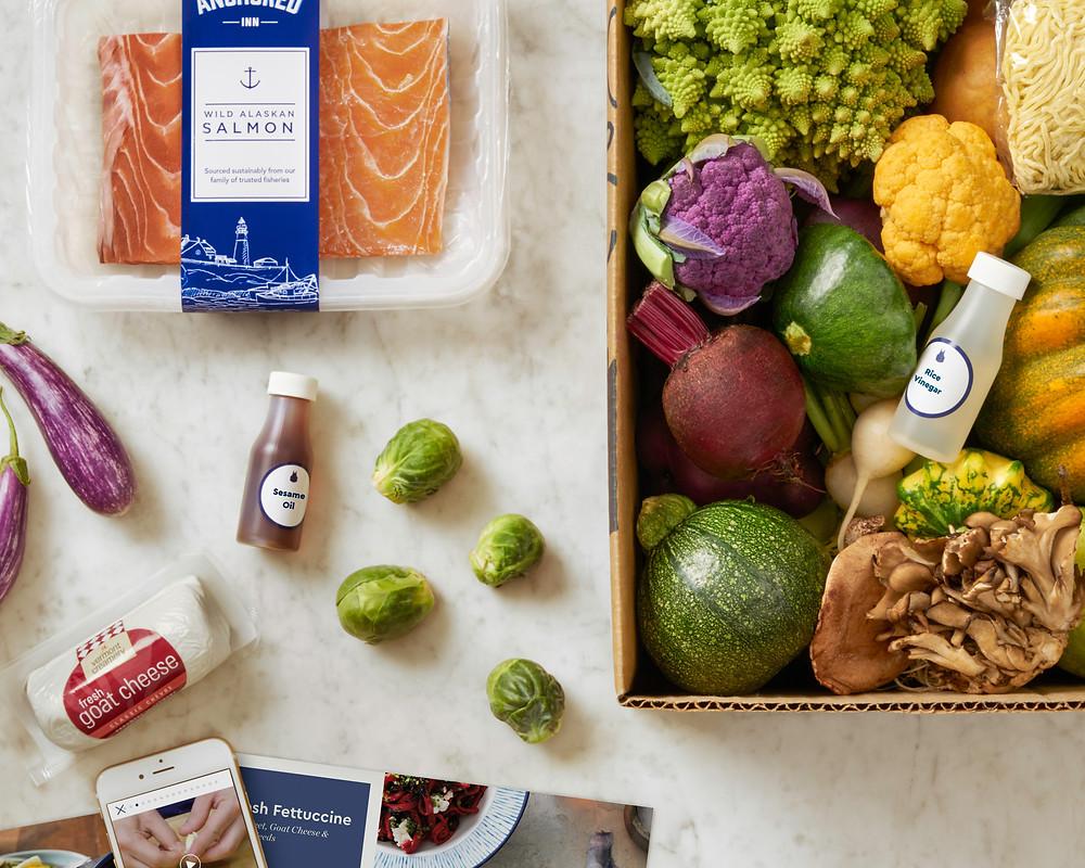 Blue Apron meal kit