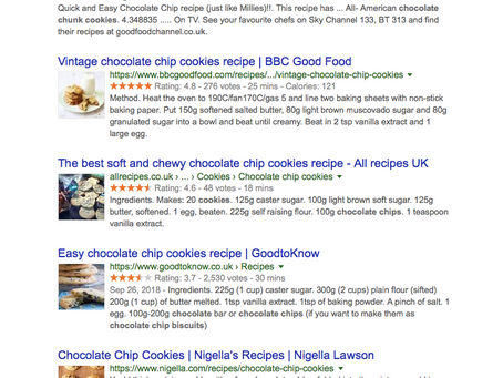 Reliability, Variety and Exclusivity  - The Three Pillars of Shoppable Recipe Content That Converts