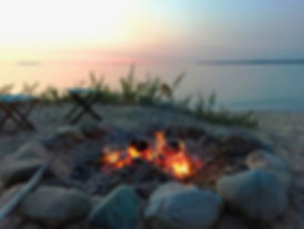 Bonfire on the beach at Play Outside.jpg