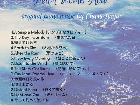 オリジナルピアノ曲集販売中!Original Piano Music for sale!