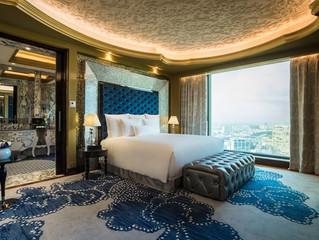 Im Urlaub hoch hinaus im neu eröffneten Luxushotel